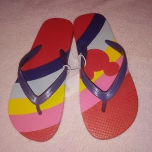 Disney kids flip flops